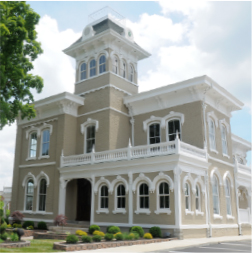 The Cumberland Bank and Trust main branch building located 502 Madison St Clarksville, Tennessee.